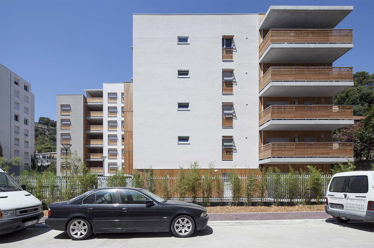 architect nice architecture paca ariane logement