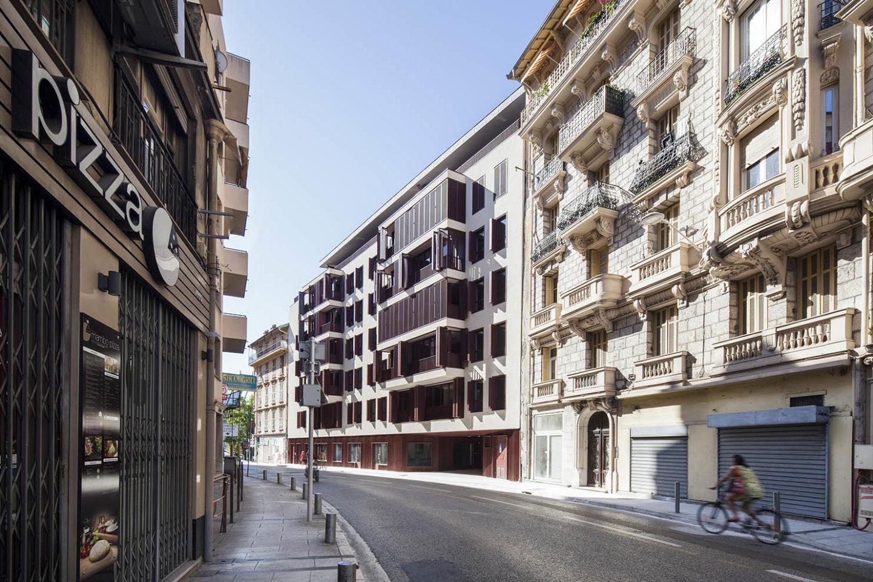 billy-goffard-architecte COMBOUL le folio logements nice 06 paca architecture batiment