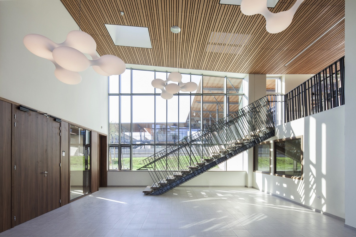 COLLÈGE ARNAUD BELTRAME - Architecte Nice PACA