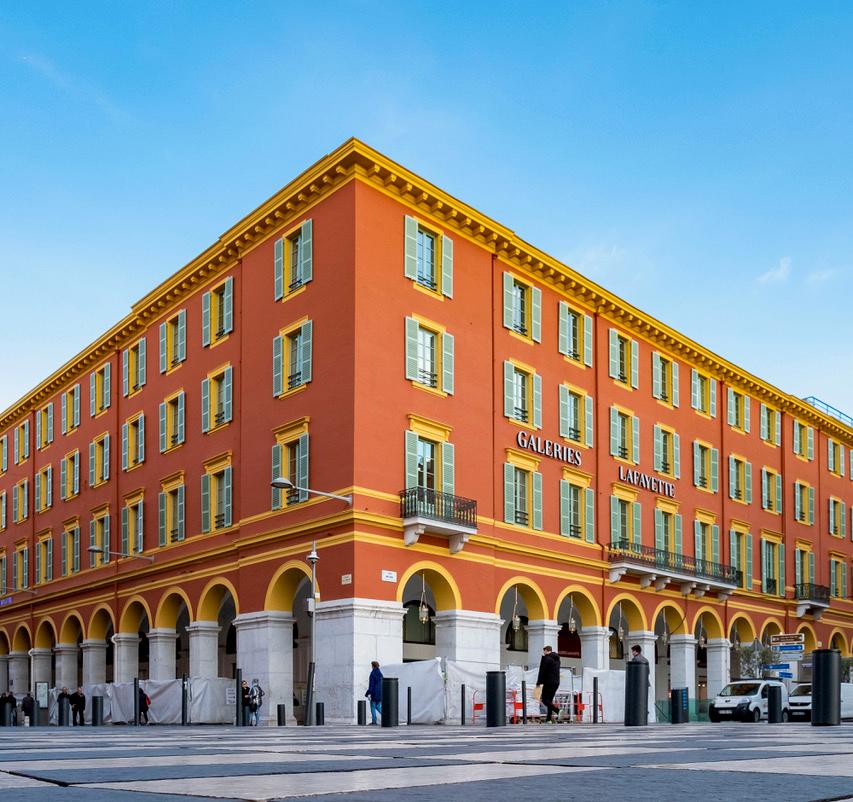 BILLY GOFFARD architectes place massena Galeries Lafayette Nice