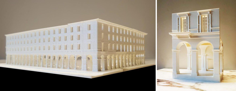 billy goffard architectes galeries lafayette